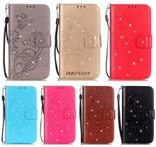 Flip Cover for Samsung Galaxy S 3 iii mini S3 Siii i8190 GT-i8190 GT-i8190L Value Edition VE i8200 GT-i8200 Phone Leather Case(China)