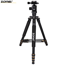 Zomei Z688 64 Inches Extend Length Up To 64 Inches Lightweight Tripod Aluminum Fast Transition Camera Tripod For Camera With Bag(China)