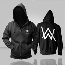 Electronic Music DJ Alan Walker Faded Hoodies Men Fashion Hip Hop Hoody Winter Warm Hoodies Justin Bieber jacket coat(China)