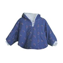 Long Sleeve 95% Cotton Hooded Cape Cloak Jacket Kids Baby Child Cape Coat
