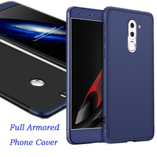 Full Armored Phone Cover,Ultimate Anti-knock Cellphone Case Protector for Huawei P9, P10, P10plus,Honor8, Honor9, Honor V9,Mate9(China)
