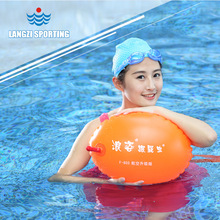 Water Safety Products Aviation Gas Nozzle Dual Airbags Swim Float Swim Bag Lifesaving Ball Stooge Life Buoy
