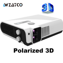 Best one Read 3D imax hd dual lens 2700ANSI Lm overhead portable led polarized 3D projector for home theater, KTV, Coffee shop