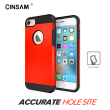 Cinsam Armor with Extreme Heavy Duty Protection Air Cushion Phone Case, Shell, Back Cover for iPhone 6/6s/6Plus/6SP/7/7Plus