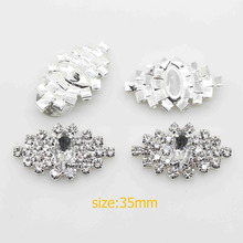 25mm 10pcs free shipping wholesale , button rhinestone with hinge, sliver color buckle or flat bottom