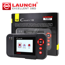 Launch X431 Creader VIII Code Reade creader CRP129 ENG/AT/ABS/SRS EPB SAS Oil Service Light resets Creader 8 scanner DHL free(China)