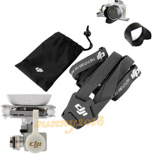 Camera Lens Cover Cap & Camera Lens Sun Hood Cap & Shoulder Neck Strap Belt Sling Lanyard For DJI Phantom 3 Professional