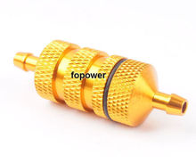 HSP 80118 Alum Gold  Fuel Filter RC 1:8 Nitro Car Truck Upgrade Parts