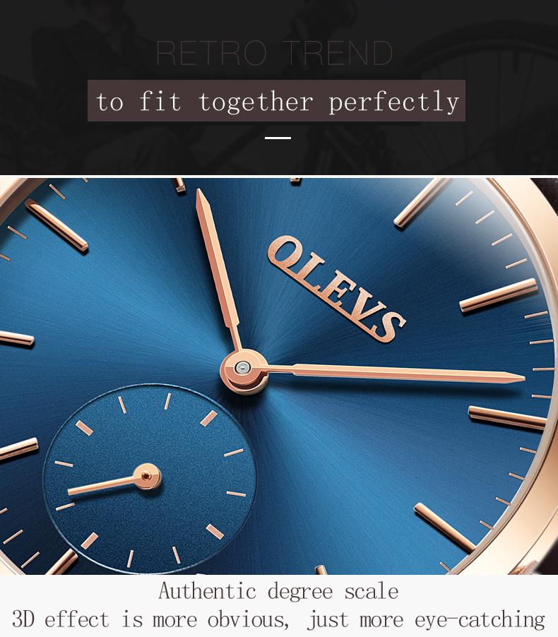 HTB1VJGwSpXXXXaBXFXXq6xXFXXXf - OLEVS Luxury Watches Women's Rose Gold Casual Quartz Watch Stainless Steel Watch Water Resistant Clock relojes hombre 2017 saat