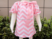 Hot Sale girls dresses  pink baby dress factory direct sale kids clothes made in china KP-MD007