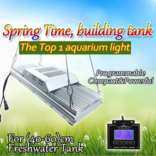 "DSunY Programmable 4 channels timer dimmable aquarium led lighting ,16""-24"" 100W FRESH WATER fish plant tank with sunrise sunset(China)"