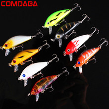 1PCS 5cm 3.6g Swim Fish Fishing Lure Artificial Hard Crank Bait topwater Wobbler Japan Mini Fishing Crankbait lure(China)