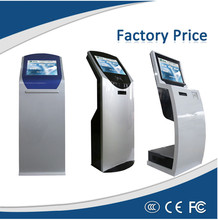 Low Cost 17 inch Information Touch Kiosk with Printer Payment Terminal