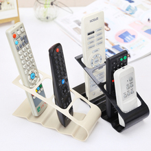 PVC storage rack shelf 4 Section TV DVD VCR  air conditioning Remote Control Mobile Phone stand Holder Organizador Bracket