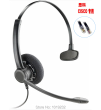 Office Headset with RJ9/RJ11 plug Headphone for Cisco IP Telephone 7965 7940 7970 7971 8961 8965 6911 6912 6921 6965 M11 M12