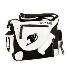 Fashion Japan Style Anime Fairy Tail Attack Messenger Bag Brand New Erza Cosplay Casual Zipper Boys Girls Shoulder Bag