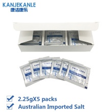 KANJEKANLE high quality brand nose cleaning medical salt, nose cleaning care salt, to prevent sleep when snoring 2.3g * 5 pack(China)