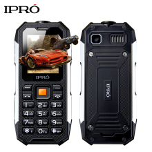 New Arrival IPRO I3208 Waterproof Mobile Phone 2500mAh Battery Military Super Shockproof Keyboard 32M+32M Dual SIM Cell Phones