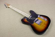 Hot Sale  Genuine human telecast electric guitar vintage sunburst color tl guitar high quality Factory Direct free shipping