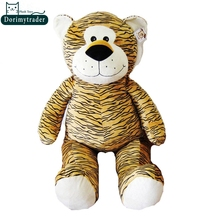 Dorimytrader Hot Item 39'' / 100cm Lovely Stuffed Soft Plush Giant Cartoon Tiger Toy Nice Gift For Baby Free Shipping DY60717