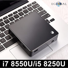 Eglobal Новый [8th поколения Intel Core i7 8550U i5 8250U 4 ядра 8 потоков] Nuc Mini PC Windows 10 DDR4 AC Wi-Fi 4 К HTPC HDMI Mini DP(China)