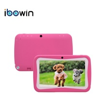 ibowin 7inch Kid Tablet PC Quad-core Android 5.1 Bluetooth Google Play Store 1024x600 Resolution Installed Kid Study APPs M755