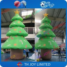 Free air shipping! 6m/20ft giant outdoor stand inflatable christmas tree decoration