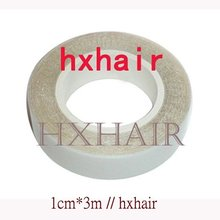Freeshipping - 100pcs HIGH QUALITY 1cm*3m Double-Sided Adhesive Tape for SKIN WEFT Hair Extension(China)