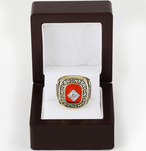 Cost Price 1982 St. louis Cardinals World Series Baseball Replica Copper High Quality Championship Rings with Wooden Boxes(China)