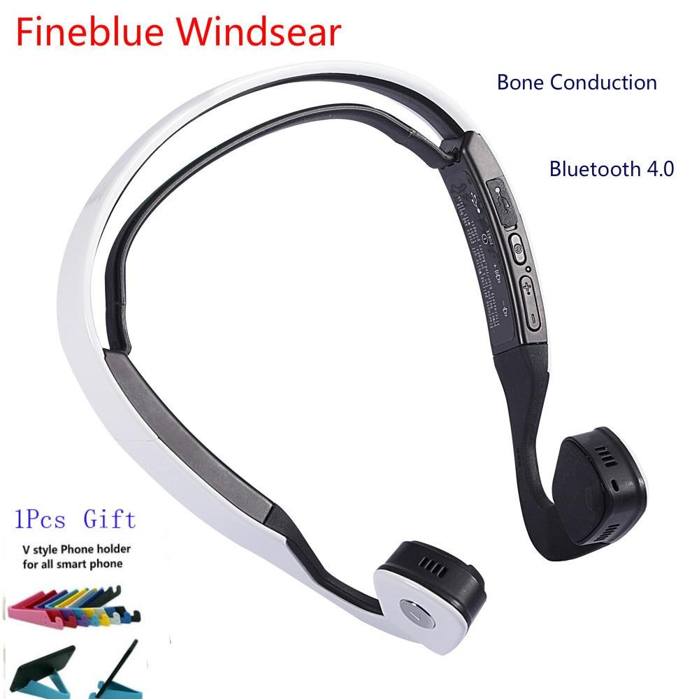 New Conduction Audifonos Bluetooth Stereo Headset Wireless Auriculares Sports Running Headphones Smart Earphone Windsear Bone<br>
