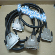 free ship ,SCSI 68pin cable ,SCSI cable for server ,2m 68 pin scsi female to female cable  for SCSI card