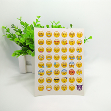 240pcs/lot Die Cut Emoji Stickers Stickers Smile Face Labels Diary Scrapbook Notebook Planner Calendar Decorations Photo Decor(China)