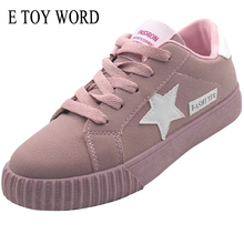 E TOY WORD Fashion Women Shoes Women Flat Shoes Light Comfortable Breathable platform Shoes For All Season Hot Selling(China)