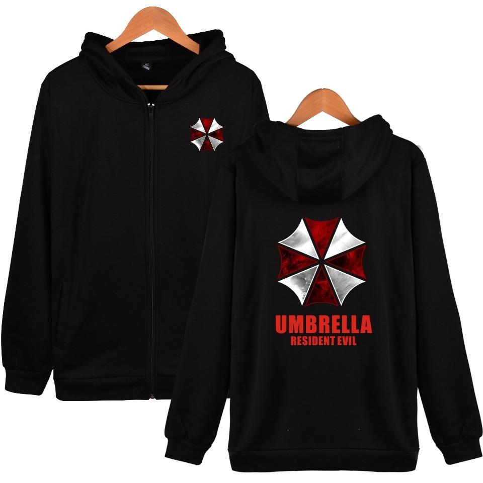 Resident Evil Umbrella Corporation Sweat à Capuche Veste Manteau d/'Hiver Cosplay 4 Couleurs