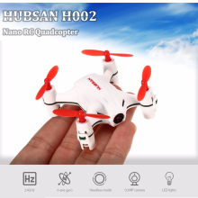 HUBSAN RC Drone Dron 2.4GHz 4CH 6 Axis Gyro RTF Radio Control Quadcopter Roll Headless Mode Nano Fly Helicopter with LED lights