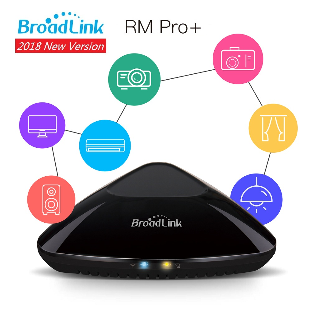 Original Broadlink RM Pro+ Universal Intelligent Remote Controller Smart Home Automation WiFi+IR+RF Switch For IOS Android Phone<br>