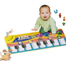Music Educational Piano Toy Kid Play Baby Crawling Mat Animal Soft Kick Toys Gift Music Carpet touch Type Electronic Piano Toy