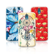 Women Girls' Beautiful Floral Painting Case For HTC Desire 526 526G 526G+ 326 326G Dual Sim Colorful Flowers Skin Back Cover(China)