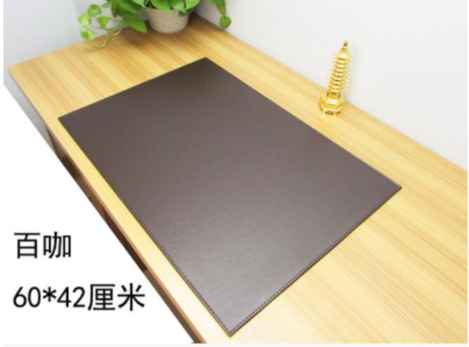 60*40CM PU Leather Office Desk Mat Computer Desks Pad Writing Table Pad Mouse Pad Mousepad<br>