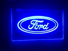 tr02 Ford car beer bar pub club 3d signs LED Neon Light Sign MAN CAVE
