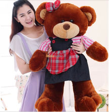 Famcytrader 37'' / 95 JUMBO Super Lovely Stuffed Soft Plush Funny Teddy Bear Toy, 3 Colors Available, Free Shipping FT50634