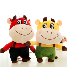 Baby Cow Toy Plush Stuffed Animals Toys Kids Valentines Day Gift Soft Speelgoed Voor Kinderen Girls Toys For Children SIA0014(China)