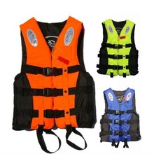 Life Jacket  Water Skiing Life Vest Safety Swimming Vest Inflatable Surfing Suit Water Sports