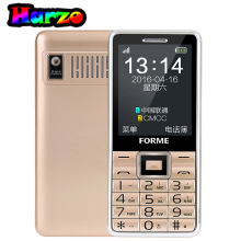 Original Quad Band Classic Keyboard Bar Phone FORME D888 Dual Sim Big Voice Elder Phone Unlocked Cell Phone
