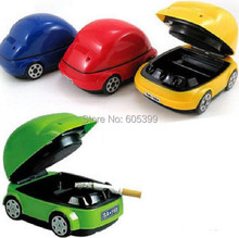 New Popular USB Ashtray/Smoke Detector Battery Beetle Car Version Available To Send Husband Or Boy Friend Car Accessories(China)