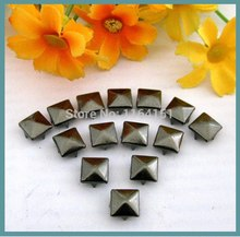 Buy wholesale 500pcs/lot 9mm*9mm Pyramid Studs Punk Rock Metal Rivet DIY Garment accessory handbag/ Leather /Clothes/Belt for $7.09 in AliExpress store