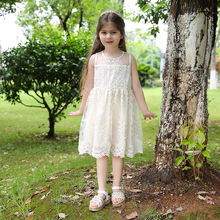 2017 Wedding Party Princess Toddler girls Summer Flower Girl Dresses Designs Fall Toddler winter Baby dress Birthday Present