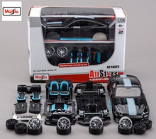Maisto 1:24 2015 Ford Mustang GT 5.0 Assembly DIY Diecast Model Car Toy New In Box Free Shipping