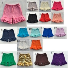 icing Ruffle Shorts Toddler Girls summer Shorts Kids leggings Baby Clothes