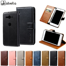 Buy Akabeila Case Sony Xperia XZ2 Compact Cases Retro Flip Leather Coque XZ2 mini Cover Magnetic Card Slot Holster Shells for $4.48 in AliExpress store